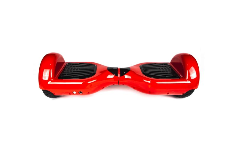 hoverboard rouge arriere