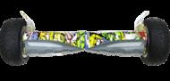 hoverboard hummer graffiti