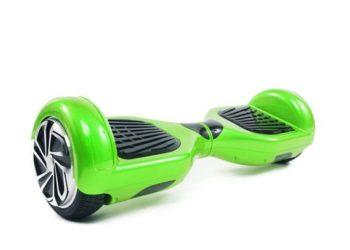 hoverboard vert cote