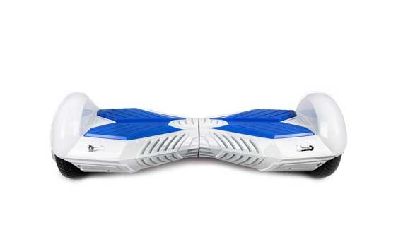 hoverboard  blanc bleu