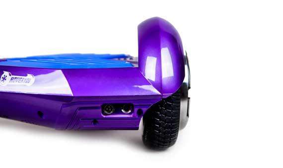 hoverboard  violet bleu