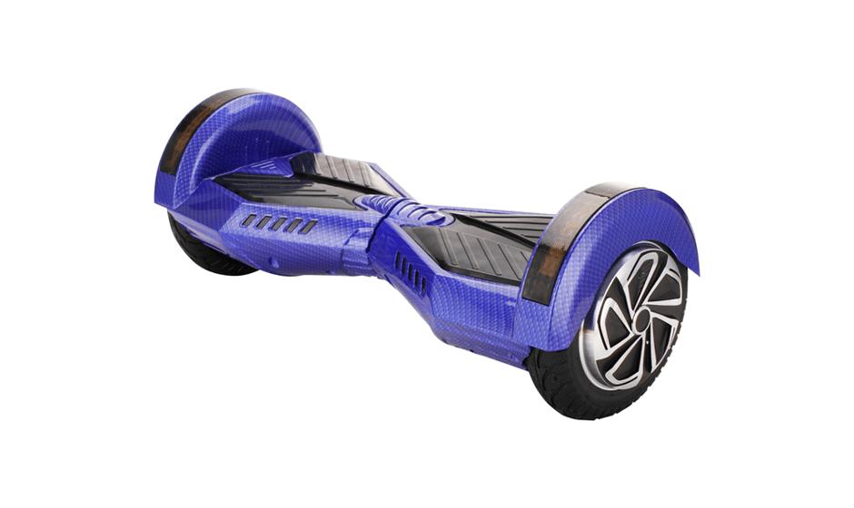 hoverboard 8 pouces bleu et noir hoverboard pas cher. Black Bedroom Furniture Sets. Home Design Ideas