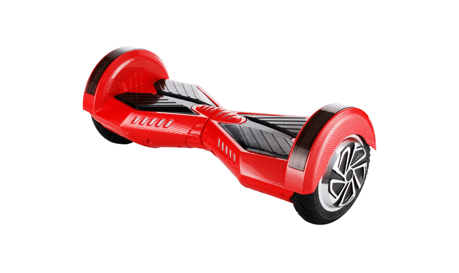 hoverboard kawasaki hoverboard rouge et noir 8 pouces hoverboard pas cher. Black Bedroom Furniture Sets. Home Design Ideas