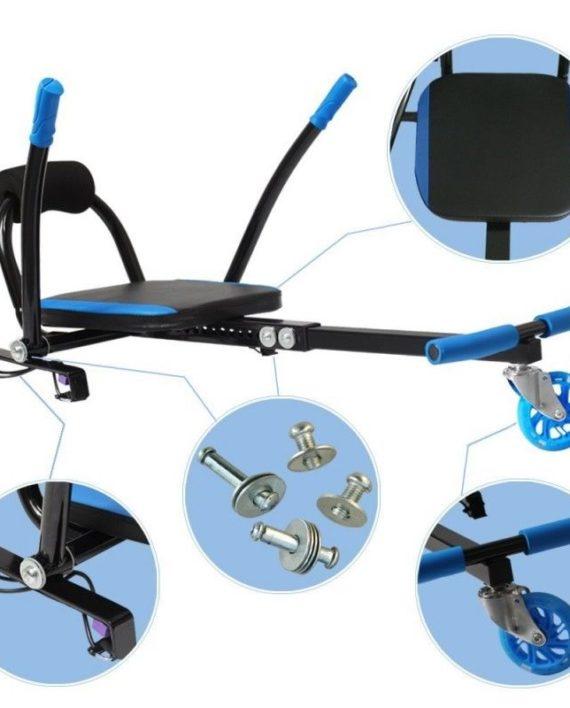 hoverkart transformez votre hoverboard en karting. Black Bedroom Furniture Sets. Home Design Ideas