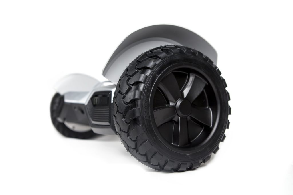 hoverboard tout terrain blanc