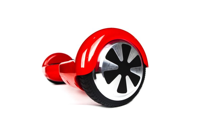 hoverboard rouge roue