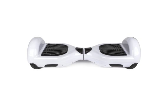 hoverboard blanc led