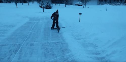 hoverboard neige