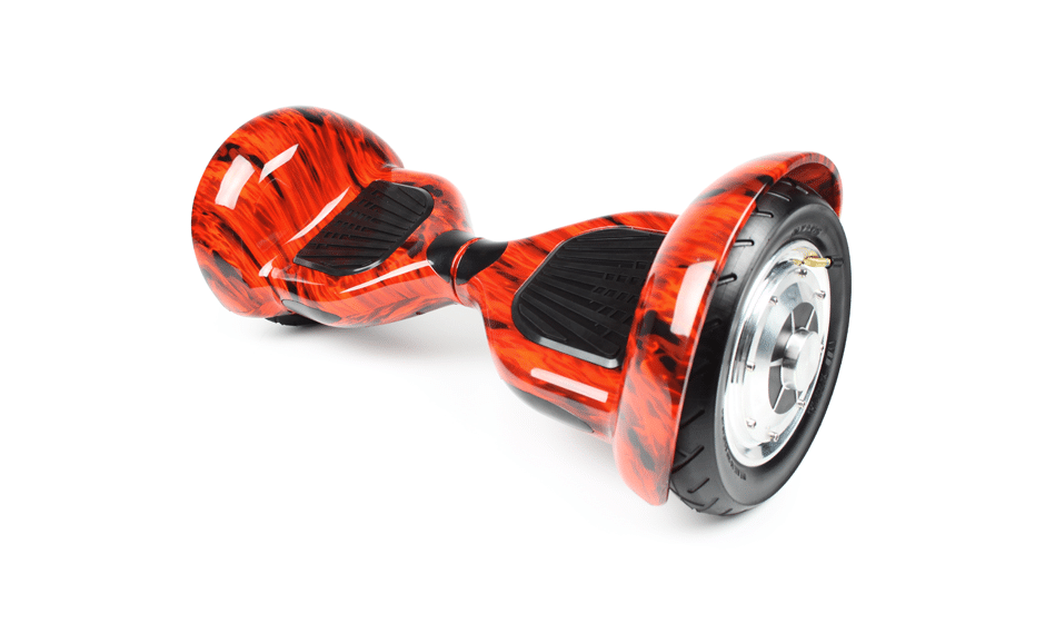 hoverboard 10 pouces tout terrain rouge flamme hoverboard pas cher. Black Bedroom Furniture Sets. Home Design Ideas