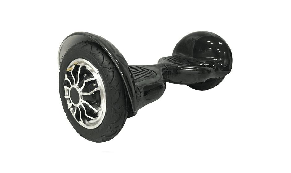 hoverboard 10 pouces tout terrain noir hoverboard pas cher. Black Bedroom Furniture Sets. Home Design Ideas