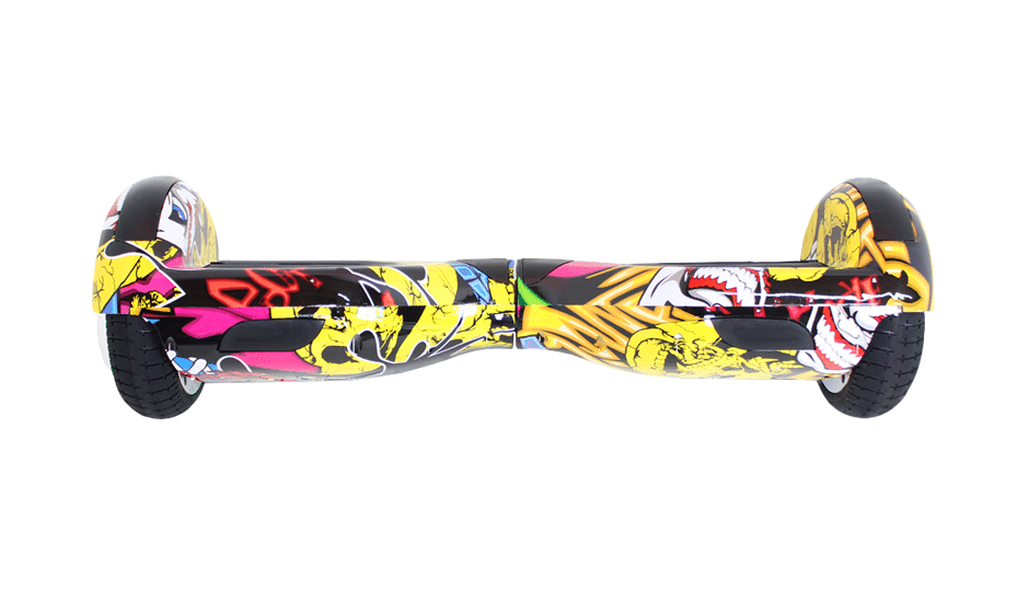 hoverboard graffiti 6 pouces gyropode en vente hoverboard pas cher. Black Bedroom Furniture Sets. Home Design Ideas