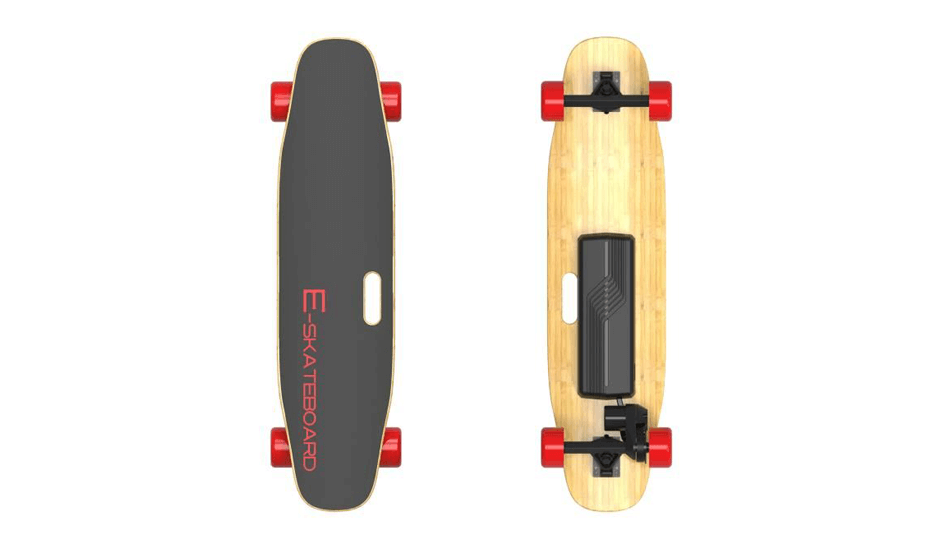 e skateboard electrique longboard pas cher skate lectrique rouge. Black Bedroom Furniture Sets. Home Design Ideas