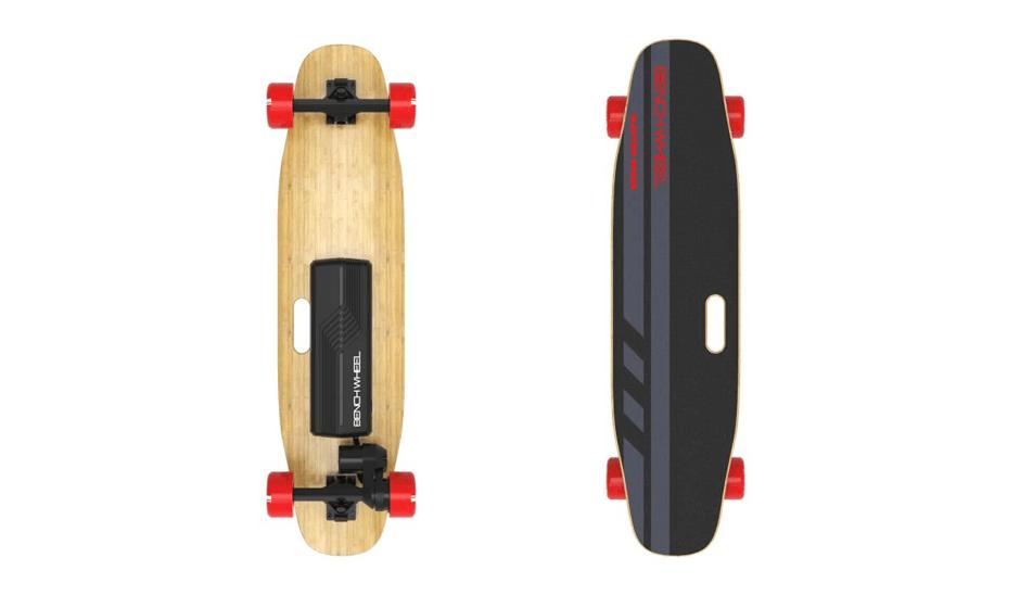 longboard lectrique classic pas cher skate lectrique noir. Black Bedroom Furniture Sets. Home Design Ideas