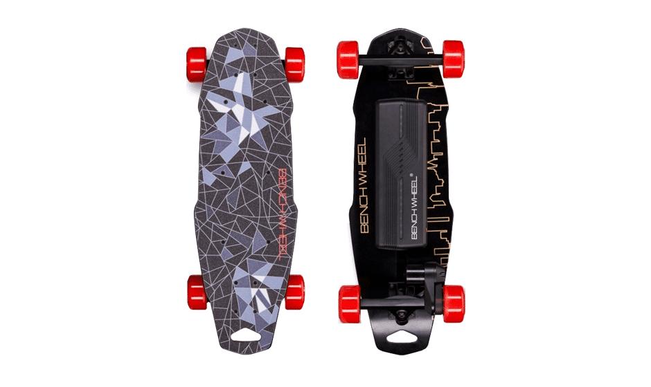 skateboard electrique penny board pas cher skate lectrique noir. Black Bedroom Furniture Sets. Home Design Ideas